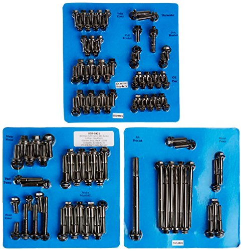 ARP 555-9801 6-Point Complete Engine Fastener Kit for Big Block Ford (Block 555 Big)