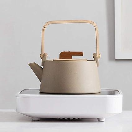 Estufa eléctrica de cerámica Estufa de cerámica Olla de cerámica Hervir Tetera Tetera Mini Té Negro