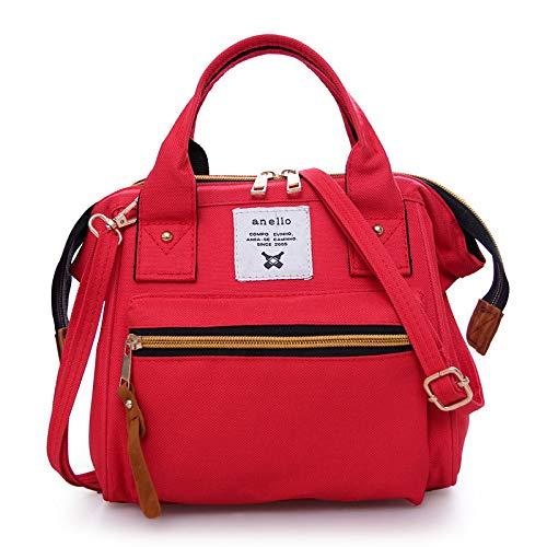 Shoulder Messenger Backpack Rouge Bag Casual Handbag Multi Canvas Hlh purpose Women's cK1JFTl