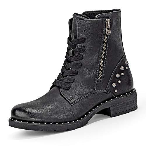 black 00001 Botines 5895106 Femme Noir Tailor Tom pvwgq4p