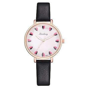 Amazon.com: Relojes de muñeca para mujer, Dicaihong, estilo ...