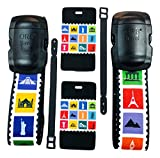 ORB - Travel Essentials Kit Luggage Strap Heavy Duty Buckle. (TE203-Multi-Colour)