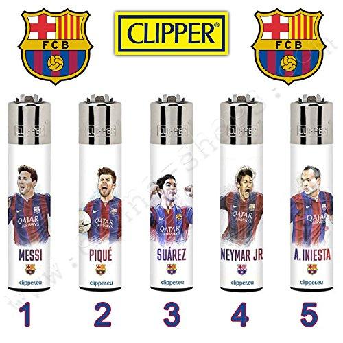 Clipper Joueurs du Barca - 5