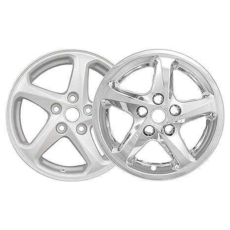 Amazon Com Brighter Design Set Of 4 Chrome 5 Spoke 16 Wheel Skins