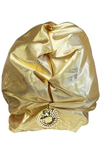 [Forum Gold Lame' Turban] (Middle Eastern Girl Costume)