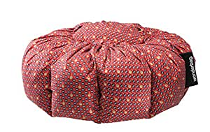 Wonderbag Non-Electric Portable Slow Cooker with Recipe Cookbook, Red Batik