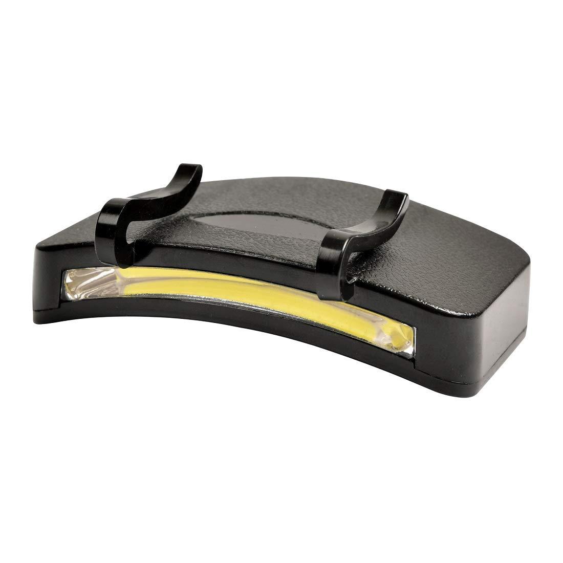 BATTERIEN 5 LED CAP LICHT CAPLIGHT KOPFLAMPE HEADLAMP MÜTZENSCHIRM LAMPE inkl