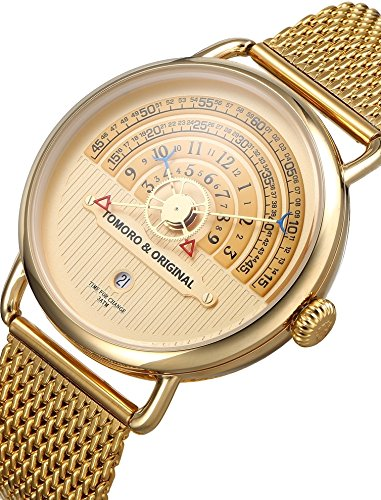 Reloj de Pulsera Cuarzo Reloj Militar Japonés Esfera Grande Calendario/Cronógrafo/Resistente al Agua