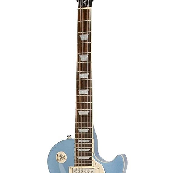 Epiphone Les Paul Standard solid-body Kit de Guitarra Eléctrica con chromacast Les Paul cuerpo estilo funda rígida y accesorios: Amazon.es: Instrumentos ...