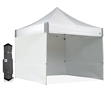 Amazon.com  E-Z UP ES100S Instant Shelter Canopy 10 by 10u0027 White  Outdoor Canopies  Garden u0026 Outdoor  sc 1 st  Amazon.com & Amazon.com : E-Z UP ES100S Instant Shelter Canopy 10 by 10 ...