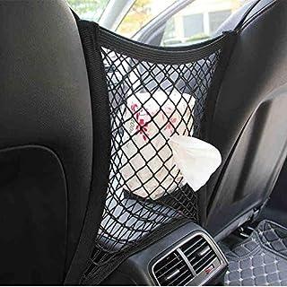 New-green Tidy Car Seat Organizzatore Tasca del carico deposito Bagagli Sacchetto Netto Maglia Elastica