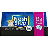 Fresh Step Extreme with Febreze Freshness, Clumping Cat Litter, Scented, 34 Pounds