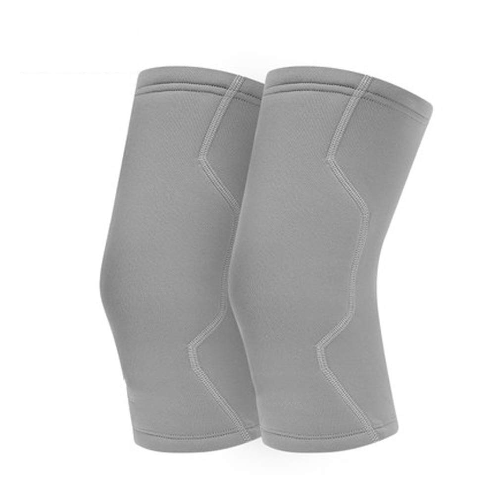 WWH-HOME Sports Equipment Warm Knee Pads Plus Cotton Sports Knee Protection Outdoor Sports Basketball Badminton Running Protective Gear Equipment Fever Relieve Joint Pain Cold Protection Sports