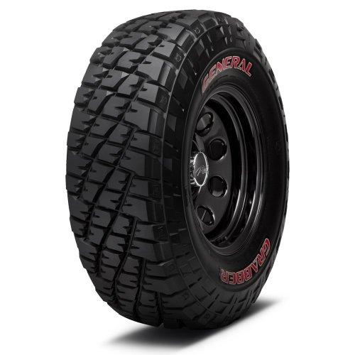 General Grabber 35x12.50R17 121Q E/10 Ply Red Letter Tire