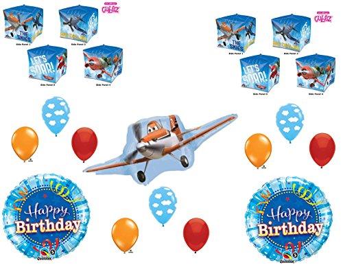Disney Planes Movie Happy Birthday Party Balloons Decoration Dusty Airplane -