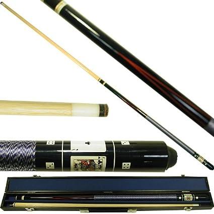 "Trademark Games Fantasy Dragon Billiard Pool Cue 58/"" With Case 20 oz Hard Wood"