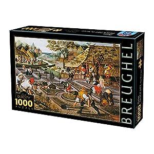 D Toys Puzzle 1000 Pcs 66947 Br 01 Uni
