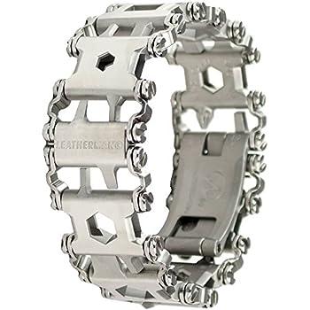 Leatherman - Tread Bracelet, The Travel Friendly Wearable Multitool, Stainless Steel