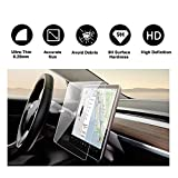 Tesla Model 3 15'' Center Touchscreen Car Navigation Touch Screen Protector, P50 P65 P80 P80D Tempered Glass 9H Anti-Scratch and Shock Resistant