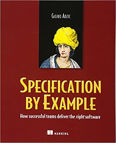 Cover of Specification by examples, by Gojko Adzic