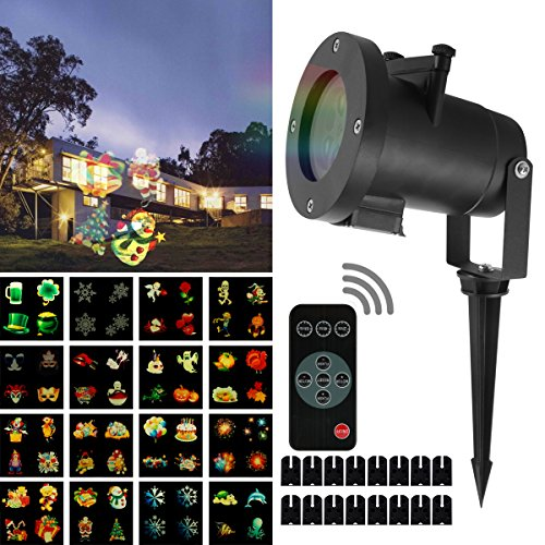 Christmas Led Projector Lights 2017 Newest remote control