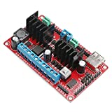 DROK DC-DC 5-30V L298n V3 Dual H Bridge Stepper Motor Driver Controller Board Chip 2A 4 Channels DC Stepper Motor Driver Module