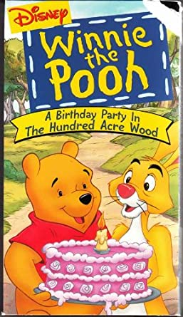 Winnie The Pooh A Birthday Party In Hundred Acre Wood
