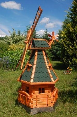 Windmühle Gartenwindmühle Windmühlen Aus Holz Kugelgelagert 14m