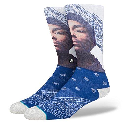 Stance Men's Whats My Name Socks Navy L