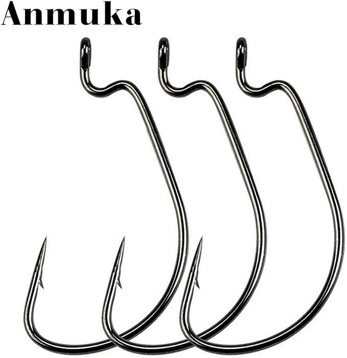 Juego de anzuelos de pesca para agua salada y agua dulce Anmuka 2000