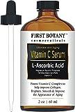 Vitamin C Serum 2 fl. oz with L'Ascorbic Acid - Facial Skin Care & Anti Aging Serum That Helps Skin Brightening, Repair Sun Damage, Fade Age Spots, Dark Circles, Wrinkles & Fine Lines