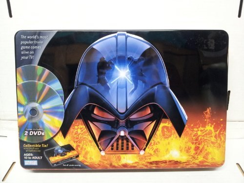 (Toys R Us Exclusive Star Wars Saga Edition Trivial Pursuit DVD in Collectible Tin)