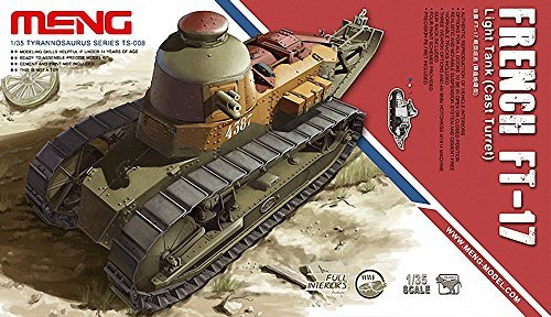 1/35 French light tank Renault FT-17 cast (Cast Turret Tank)