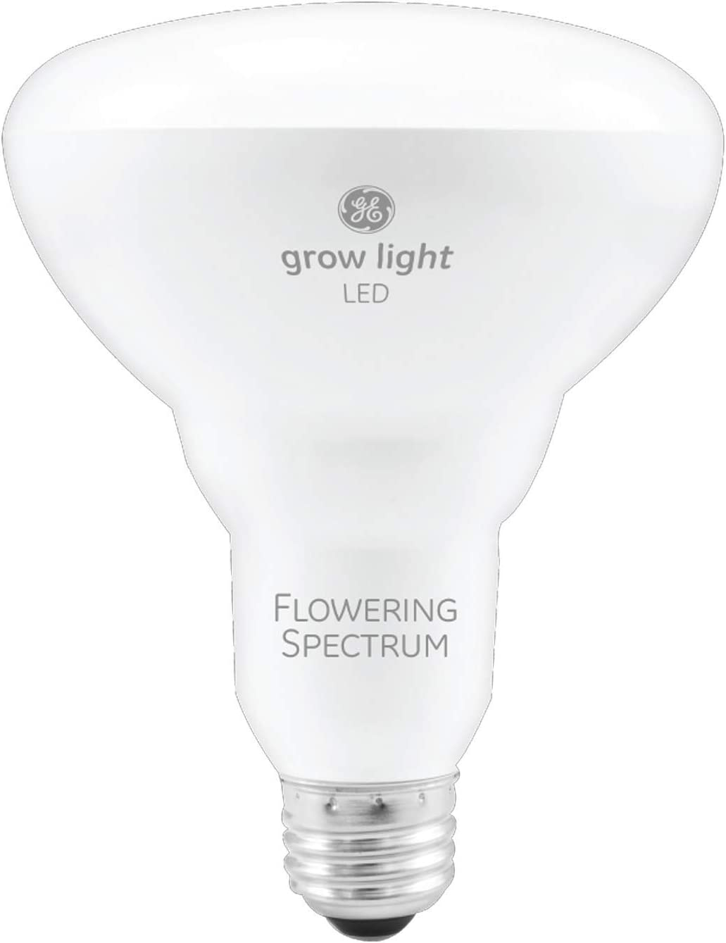GE Lighting 93101231 9-Watt BR30 LED Grow Light Bulb for Indoor Plants, Red Reproductive Spectrum for Flowering and Fruiting (Renewed)