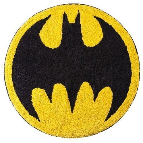 Bat Signal ~ Round Bath Rug ~ Batman