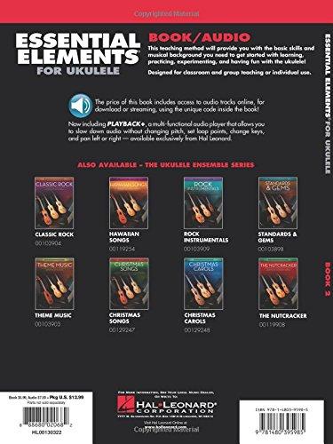 Amazon Essential Elements Ukulele Method Book 2 The Ukulele