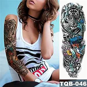 tzxdbh 5pcs Big Arm Brazo Tatuaje maorí tótem Impermeable Energía ...