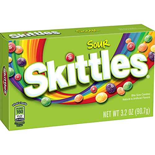 Skittles Sour Candy Theater ounce product image