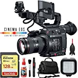 Canon EOS C200 Cinema Camera w/ 24-105mm Lens + 128GB SD Card Base Kit -  6Ave