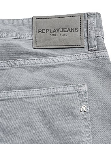 Jeans Grover Gris Rectos 30 Hombre Grey Para Replay light TXqwX