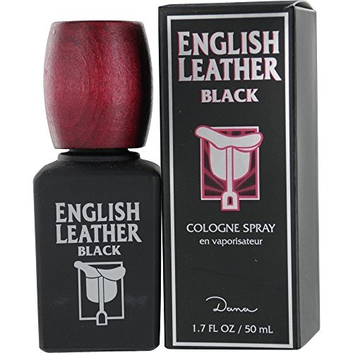 English Leather Black by Dana Cologne Spray for Men, 1.7 Ounce