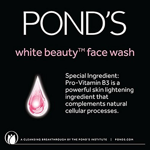 Pond's White Beauty Daily Facial Foam Spot-Less Rosy White 100g / 3.5 oz 6