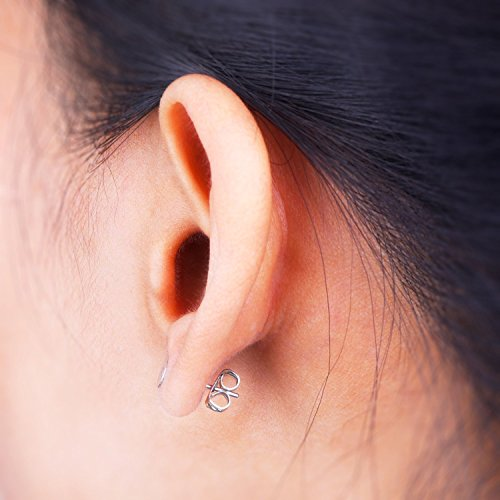 24 12 Pairs Earring Posts//Backs with Pad 10MM