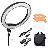 Mcoplus RL-18 Camera Photo/Video 18'' 5500K LED Dimmable Ring Flash Light Studio Outdoor Video Camera Photography Lighting
