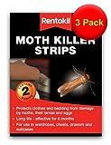 VALUE Twin Packs of Rentokil Moth Killer Strips by Moth Prevention