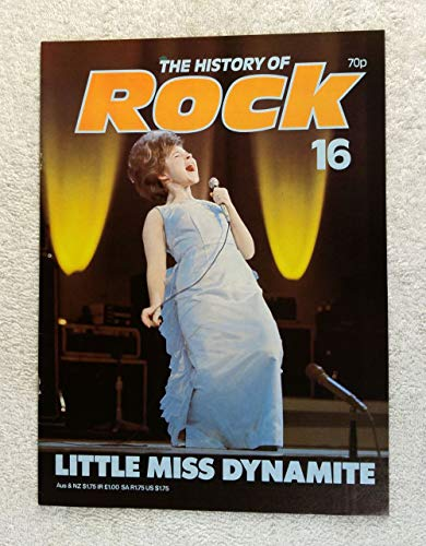 Brenda Lee - Little Miss Dynamite - The History of Rock Magazine #16 (1982) - Other Content: Ricky Nelson, Paul Anka, Role of Women in 50s Music, Pat Boone, Connie Francis - 20 Pages