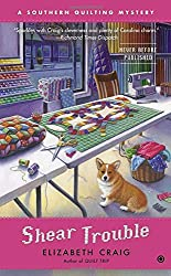 Shear Trouble (Southern Quilting Mystery)