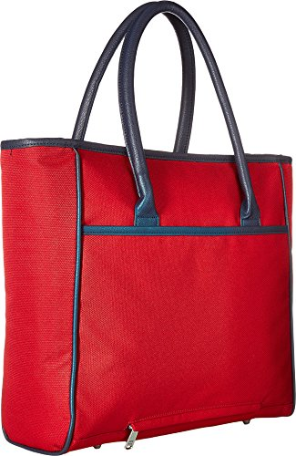 Tommy Hilfiger Signature Solid Travel Tote, Red, One Size