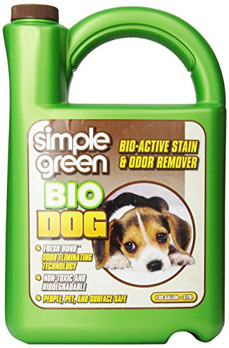 SIMPLE GREEN 432104 Bio Active Stain and Odor Remover Gal Refill for Dog