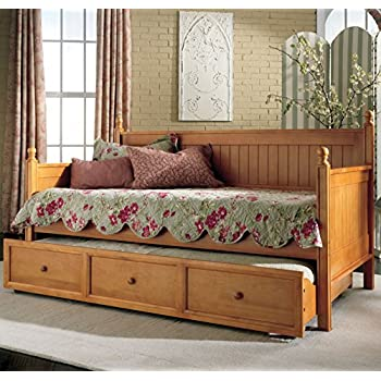 Amazon Com Fashion Bed Group Casey Ii Wood Daybed With